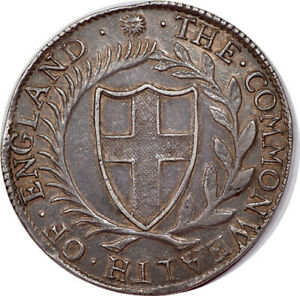 Click now to see the BUY IT NOW Price! GREAT BRITAIN 1653 COMMONWEALTH CROWN NGC AU    ABSOLUTELY GORGEOUS PIECE