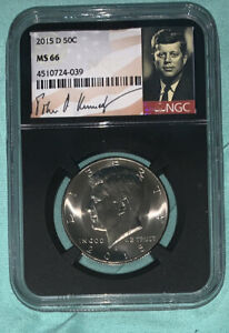 Click now to see the BUY IT NOW Price! 2015 D KENNEDY HALF DOLLAR 50C NGC MS 66 LABELED SIGNATURE OBO