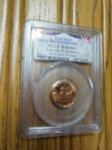 2009 D LINCOLN PRESIDENCY YEARS CENT PCGS MS65RD     MINT STATE RED FDI PENNY