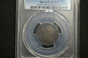 1802/0 HALF CENT  C2  PCGS GOOD DETAILS    TAKE 5  OFF AT CHECKOUT OR MAKE OFFER