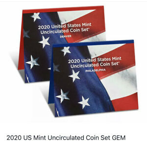 Click now to see the BUY IT NOW Price! SEALED  50    2020 US MINT UNCIRCULATED COIN SET GEM BU