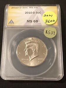 Click now to see the BUY IT NOW Price! 2010 D KENNEDY HALF DOLLAR K539