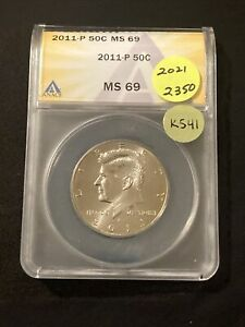 Click now to see the BUY IT NOW Price! 2011 P KENNEDY HALF DOLLAR K541