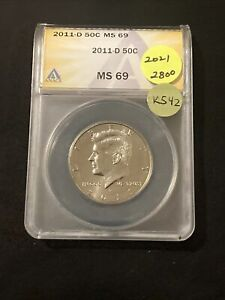Click now to see the BUY IT NOW Price! 2011 D KENNEDY HALF DOLLAR K542
