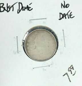 NO DATE   BUST HALF DIME  NICE COIN