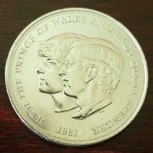 H.R.H PRINCE OF WALES AND LADY DIANA SPENCER COLLECTORS COIN 1981 ROYAL MINT