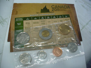 Click now to see the BUY IT NOW Price! 2011  CANADA   PROOF  LIKE SET  COINS  DOLLAR  HALF DOLLAR  QUARTER DIME NICKEL