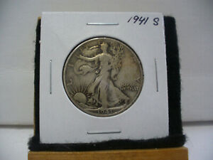 Click now to see the BUY IT NOW Price! 1941 S  WALKER  LIBERTY WALKING  HALF  DOLLAR      50 CENT PIECE   COIN  41S