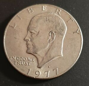 USA 1977 D EISENHOWER DOLLAR  V57