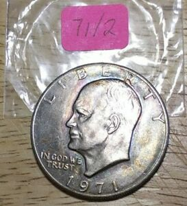 1971 P EISENHOWER DOLLAR COIN