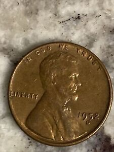 LINCOLN WHEAT PENNY 1952 D