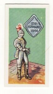 BRITISH COINS & COSTUMES CARDS 1960S. KING CHARLES I. NEWARK SHILLING