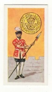 BRITISH COINS & COSTUMES CARDS 1960S.KING HENRY VIII. CROWN