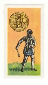 BRITISH COINS & COSTUMES CARDS 1960S.KING HENRY VII. SOVERIGN