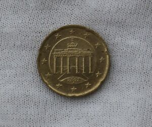 2002 GERMANY 20 CENTS EURO CIRCULATED