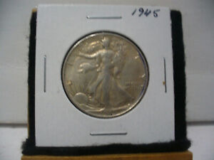 Click now to see the BUY IT NOW Price! 1945  WALKER  LIBERTY WALKING  HALF  DOLLAR      50 CENT PIECE   COIN  45