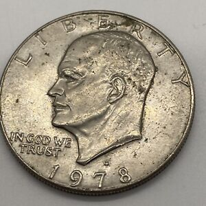 1978 EISENHOWER IKE DOLLAR COIN CIRCULATED/UNGRADED