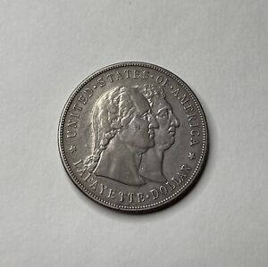 1900 LAFAYETTE COMMEMORATIVE SILVER DOLLAR   AU    COMMEMORATIVE