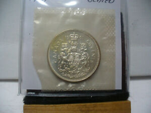 Click now to see the BUY IT NOW Price! 1961 CANADA SILVER HALF DOLLAR TOP GRADE  50 CENT PIECE  61  PROOF LIKE  SEALED