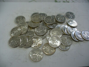 Click now to see the BUY IT NOW Price! LOT OF 40 1962   CANADA  QUARTERS   SILVER  COINS  25       CENT  PIECES