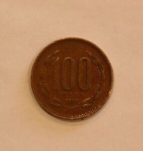 1997 CHILE ONE HUNDRED 100 PESOS CIRCULATED