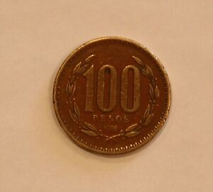 1996 CHILE ONE HUNDRED 100 PESOS CIRCULATED