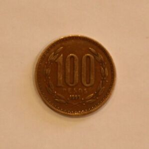 1993 CHILE ONE HUNDRED 100 PESOS CIRCULATED
