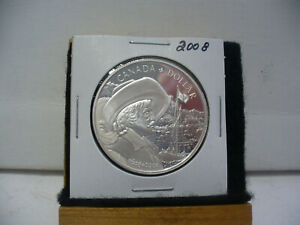 Click now to see the BUY IT NOW Price! 2008  CANADA  SILVER DOLLAR 1$  COIN   HIGH   GRADE   08    .925  SILVER