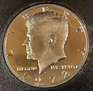 1972 S KENNEDY PROOF HALF DOLLAR FROM PROOF SET WITH