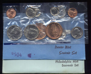 Click now to see the BUY IT NOW Price! 1985 P & 1985 D     US MINT SOUVINER MINT SET  964 105