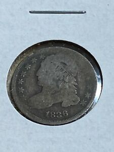 1836 US CAPPED BUST DIME