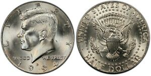 1994 P AND D KENNEDY HALF DOLLARS   FROM US MINT ROLLS