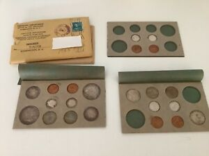 1955 COMPLETE UNITED STATES SILVER DOUBLE MINT SET B19C