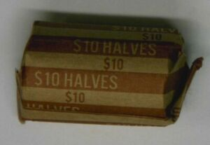 1 ROLL  20 COINS  KENNEDY HALF DOLLARS 19712001 PD MIXED DATES 5  OFF 2  ROLLS