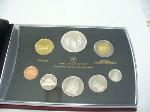 Click now to see the BUY IT NOW Price! 2012  1$  CANADA PROOF SET   TOONIE  LOONIE FIFTY CENT QUARTER NICKEL DIME