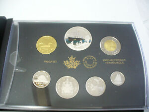 Click now to see the BUY IT NOW Price! 2016  1$  CANADA PROOF SET   TOONIE  LOONIE FIFTY CENT QUARTER NICKEL DIME
