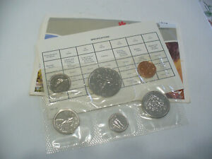 Click now to see the BUY IT NOW Price! 1986  CANADA   PROOF  LIKE SET  COINS  DOLLAR  HALF DOLLAR QUARTER  DIME NICKEL