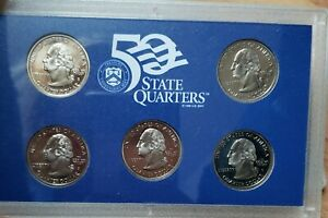 1999 UNITED STATES MINT PROOF SET IN ORIGINAL BOX WITH COA 4