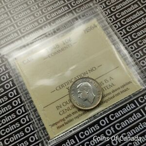 1948 CANADA 10 CENTS DIME   ICCS MS 64   GREAT EYE APPEAL   NICE  COINSOFCANADA