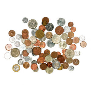 1  LOT OF 15 DIFFERENT COUNTRIES WORLD COINS NICE CIRCULATED UNC.