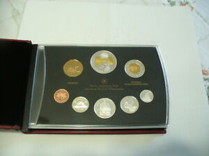 Click now to see the BUY IT NOW Price! 2005  CANADA PROOF SET   TOONIE  LOONIE FIFTY CENT QUARTER NICKEL DIME PENNY