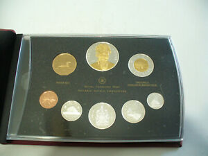 Click now to see the BUY IT NOW Price! 2007  CANADA PROOF SET   TOONIE  LOONIE FIFTY CENT QUARTER NICKEL DIME PENNY