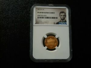 2012 S LINCOLN CENT 1C    NGC PF 69 RD  ULTRA CAMEO