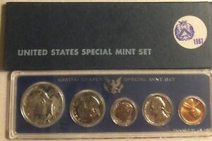 COINS   US SPECIAL MINT SET 1967 P MINT CONDITION IN ORIGINAL PACKAGING