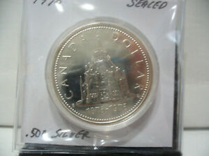 Click now to see the BUY IT NOW Price! 1976   CANADA  SILVER DOLLAR  COIN   1$    NICE  HIGH  GRADE   76   SEE PHOTOS