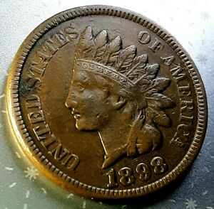 1898  INDIAN HEAD CENT     HOME OF THE $5 DEAL