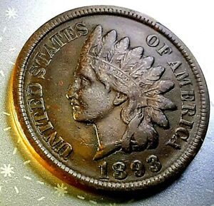 1893  INDIAN HEAD CENT     HOME OF THE $5 DEAL