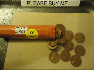 1970 P LINCOLN CENT ROLL      >> TRACKING INCLUDED <<