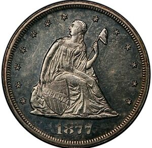 Click now to see the BUY IT NOW Price! 1877 20C PR62 PCGS. BF 1