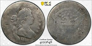 1801 DRAPED BUST HALF DIME H10C PCGS AG03 ABOUT GOOD LOOKS G  KEY DATE CERTIFIED
